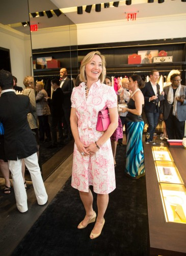 Carolina Herrera and ELLE's Joe Zee Celebrate the Opening of CH Carolina Herrera San Francisco
