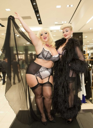 Dita Von Teese Appearance at Bloomingdales